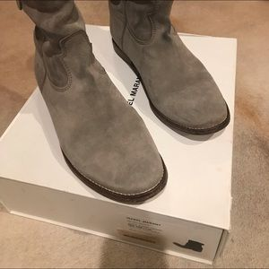 Isabel Marant grey suede boot excellent condition